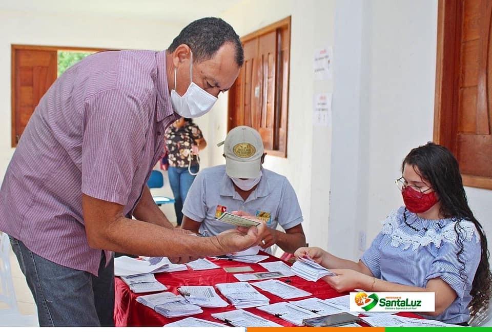 Secretaria de Agricultura e Meio Ambiente realiza entrega de boletos do Garantia Sagra