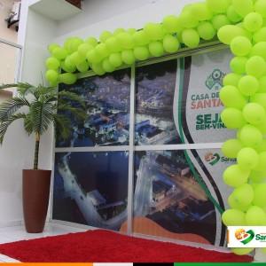 Prefeitura de Santaluz inaugurou casa de apoio em Salvador